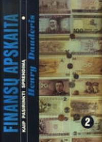 Finansų apskaita II tomas