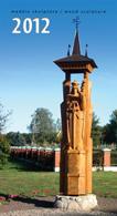 2012 m. kalendorius. Medžio skulptūra